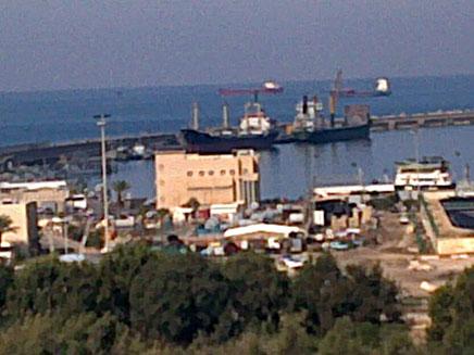 נמל אשדוד, היום (צילום: חדשות 2)