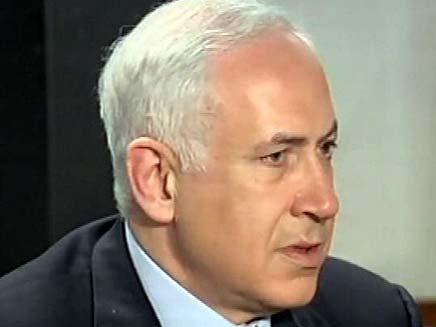 ראש הממשלה בנימין נתניהו במסיבת עיתונאים (צילום: חדשות 2)