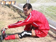 אמיר אבו ניל. יחרים את האימונים  (עמית מצפה) (צילום: מערכת ONE)