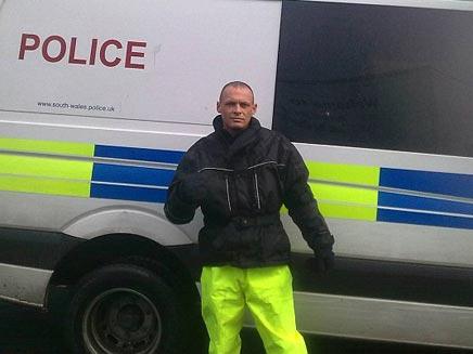 פורץ שלח תמונה לארכיון המשטרתי (צילום: dailymail)