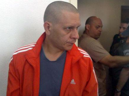דמיאן קרליק, חשוד בטבח משפ' אושרנקו (צילום: גלעד שלמור, חדשות 2)