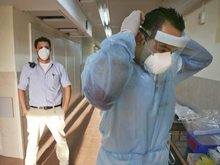 שפעת חזירים (צילום: AP)