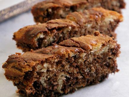 עוגת שיש שוקולד בלגי (צילום: דניאל לילה, מסעדת טאטי)