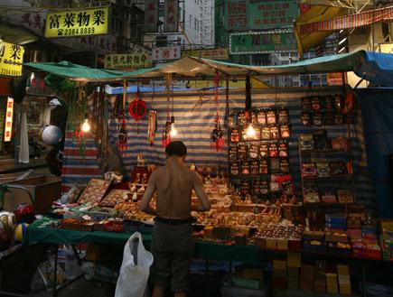 רחוב טמפל, הונג קונג (צילום: China Photos, GettyImages IL)