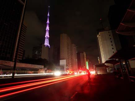5 מיליון ללא חשמל. ארכיון (צילום: AP)