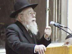 הרב דב ליאור (צילום: חדשות 2)