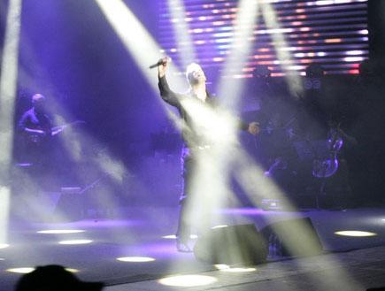 משה פרץ הופעה 7 (צילום: אלעד דיין)