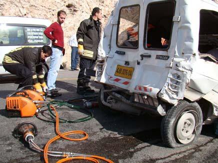 תאונה בירושלים (צילום: חדשות 2)