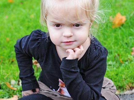 ילדה מאובנת (צילום: דיילי מייל)