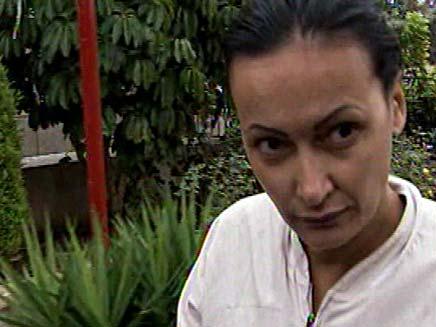 נטליה קרליק, חשודה בסיוע לרצח (צילום: חדשות 2)