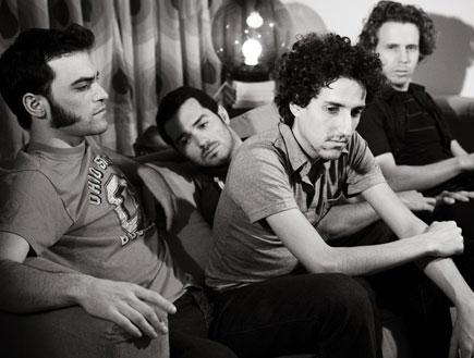 להקת המועדון (צילום: לירון אראל)