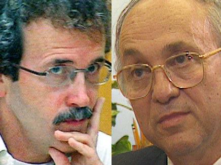 ידידיה שטרן ויעקב נאמן (צילום: חדשות 2)