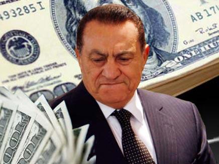 כסף נמשך לכוח. נשיא מצרים המודח מובארק (צילום: רויטרס)