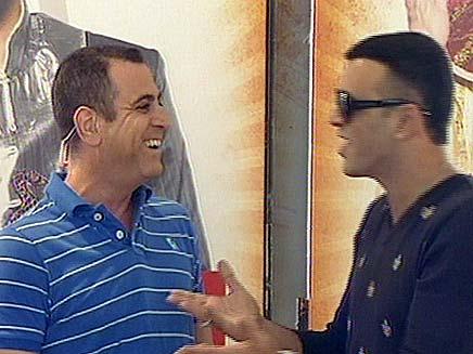 אלי יצפאן ואיל גולן (צילום: חדשות 2)