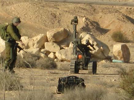 """מטען חבלה אותר בגבול מצרים. צילום ארכיון (צילום: דו""""צ)"""