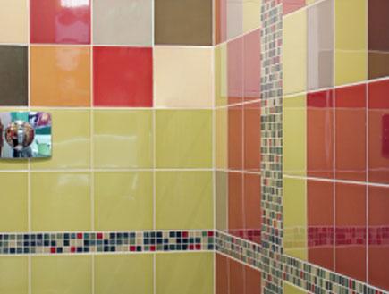 שירותים צבעוניים (צילום: istockphoto)