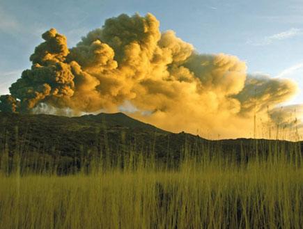הר הגעשה אטנה - סיציליה - איטליה (צילום: גלובס)