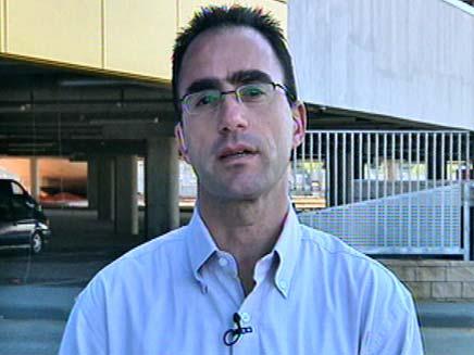 """אייל מזרחי, אביו של אורן ז""""ל (צילום: חדשות 2)"""