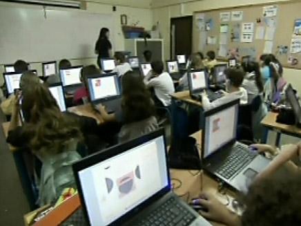 כיתה עתידנית (צילום: חדשות 2)