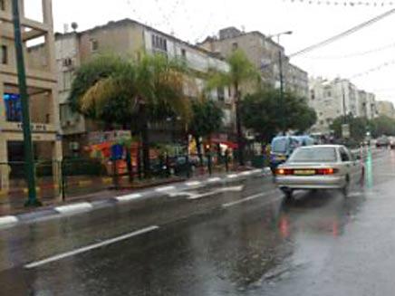מזג האוויר בכפר סבא (צילום: חדשות 2)