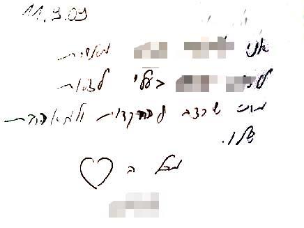 אישור בכתב לבגידה (צילום: חדשות 2)