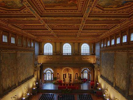 ארמון וקיו בפירנצה, טוסקנה (צילום: ויקיפדיה)