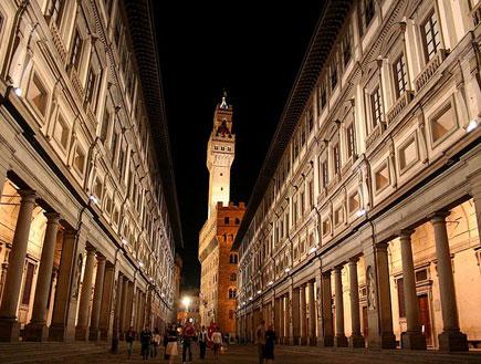 גלריית אופיצי בפירנצה (צילום: ויקיפדיה)