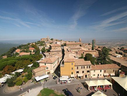 מונטלצ'ינו, טוסקנה (צילום: ויקיפדיה)
