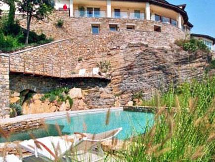 מלון עדן רוק ליד פירנצה, טוסקנה (צילום: האתר הרשמי)