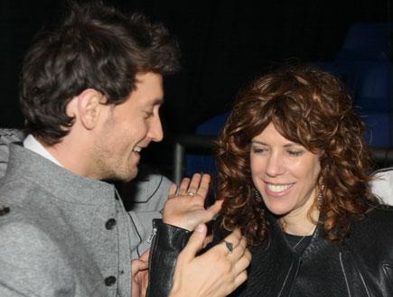 ג'ודי ניר מוזס שלום וליאור סושרד - אירוע פתחון לב (צילום: אלעד דיין)