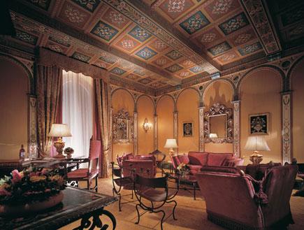 הסוויטה בגראנד-הוטל בפירנצה, טוסקנה (צילום: האתר הרשמי)
