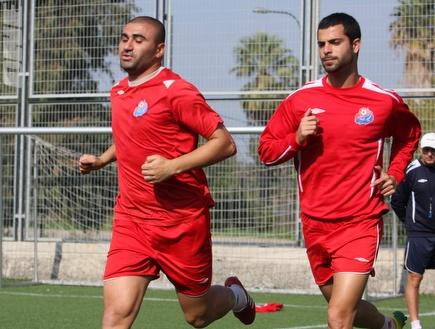 ערן לוי ובן בסט. ימשיכו לרוץ יחדיו (עמית מצפה) (צילום: מערכת ONE)