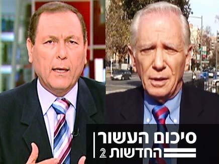 אהרן ברנע ועודד בן עמי (צילום: חדשות 2)