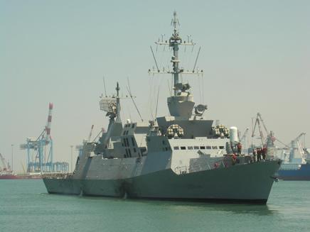 """ספינה של חיל הים (צילום: דו""""צ)"""