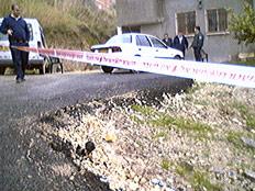 זירת הרצח בכפר נחף