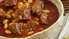 מרק בשר בקר עם עדשים (צילום: דניה Danya photo)