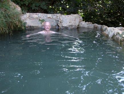 טיולים בהרי ירושלים: הבריכה בעין כפירה (צילום: ערן גל-אור)