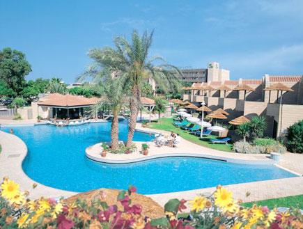 הבריכה במלון חוף התמרים בקפריסין