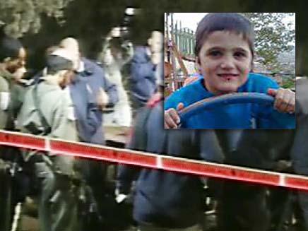 חיפושים אחר הילד הנעדר ניצן כהן (צילום: חדשות 2)