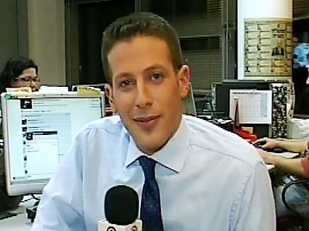 הכרזת השם המנצח, מדסק חדשות 2 באינטרנט (צילום: חדשות 2)