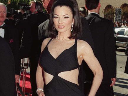 פראן דרשר בשמלה שחורה (צילום: אימג'בנק/GettyImages, getty images)