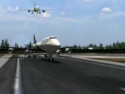 שני מטוסים כמעט התנגשו בשדה התעופה בן גוריון (צילום: חדשות 2)