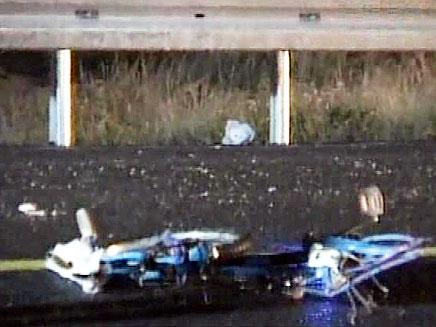 רוכב אופנים נהרג סמוך לעתלית (צילום: חדשות 2)