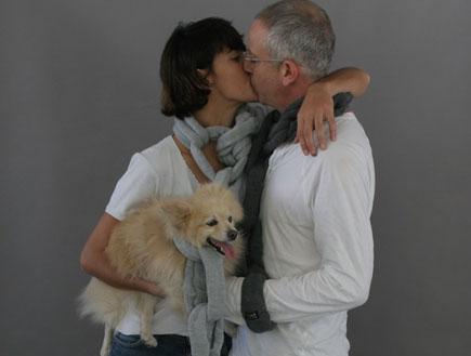 אורי גוטליב והחברה חן יאני (צילום: באדיבות אתר layla.co.il - צילום: ג'קי יעקב)
