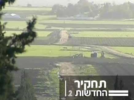 תחקיר שטחים חקלאים - חיים ריבלין (צילום: חדשות 2)