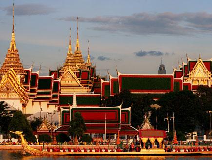 ארמונו של מלך תאילנד בבנגקוק (צילום: Chumsak Kanoknan, GettyImages IL)