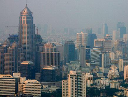 מבט על בנגקוק (צילום: Paula Bronstein, GettyImages IL)