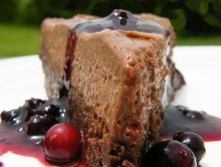 עוגת נוטלה (צילום: דליה מאיר, קסמים מתוקים)