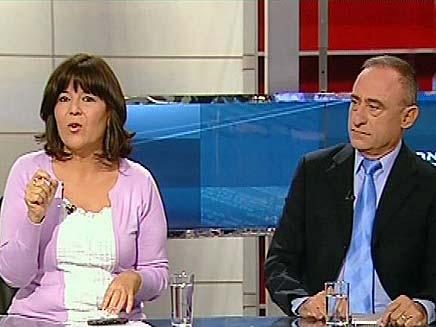 רינה מצליח ושמעון שיפר (צילום: חדשות 2)