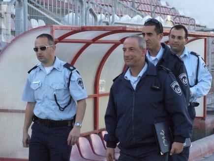 המשטרה. היערכות מוגברת לדרבי המגזר (מחאסן נאסר) (צילום: מערכת ONE)